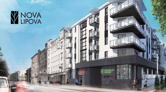 Nova Lipova - osiedle w Łodzi - oferta Esembla Group